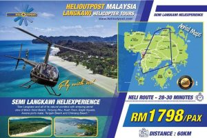 Langkawi helicopter tour 6
